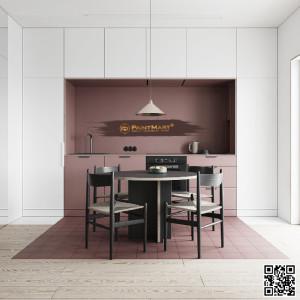 Xu hướng thiết kế nội thất theo phong cách đơn sắc