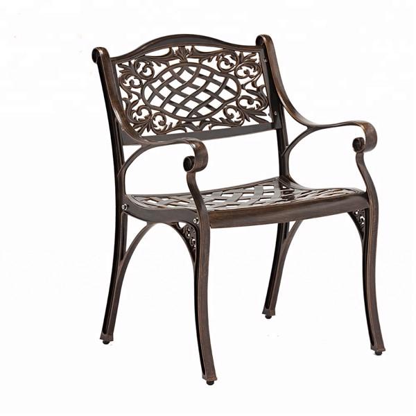 Ghế Sân Vườn, ghế ngoài trời, ghế cafe Nhập Khẩu Có Tay TVP-SV07