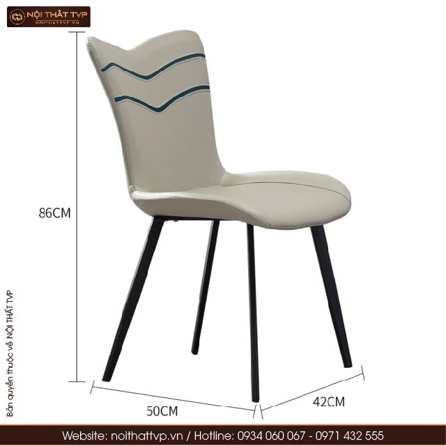 Kích thước ghế Janda